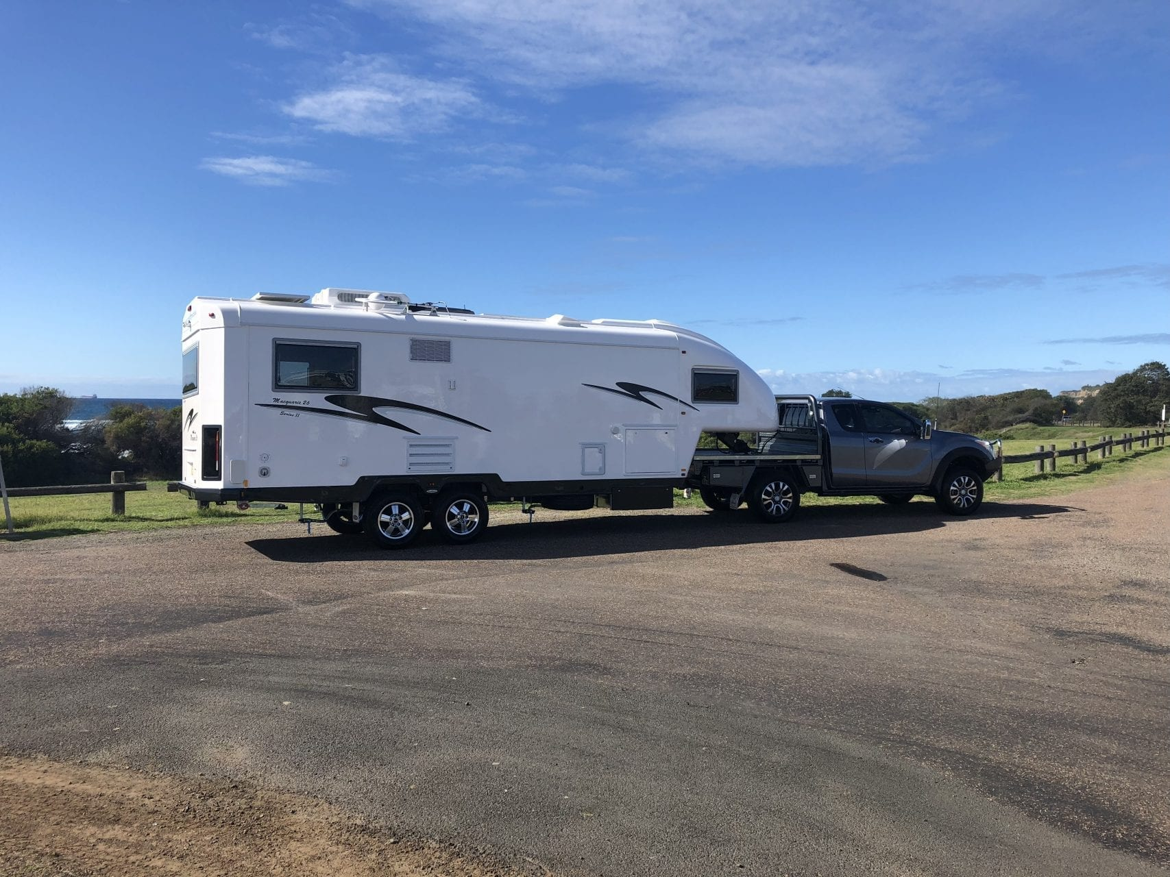 Newcastle Caravan Travelhome Fifth Wheeler Lake Macquarie Hunter Valley