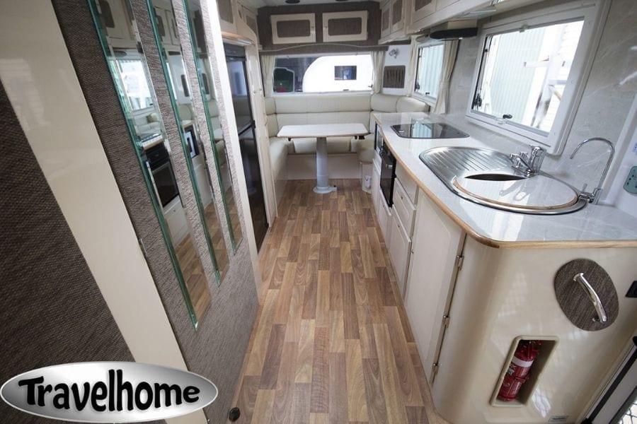 26ft Travelhome Interior
