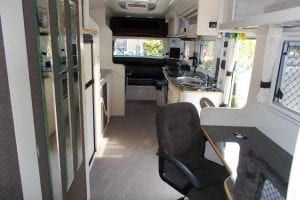 29ft Travelhome Caravan Interior