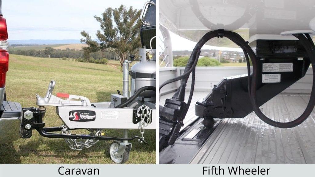 Caravan Hitch Fifth Wheeler Towing