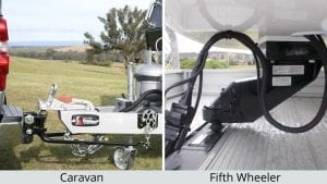 Caravan Hitch Fifth Wheeler Towing