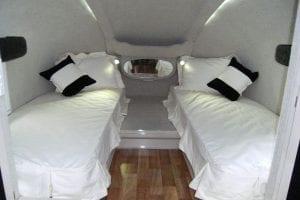 Sleeping Area Fifth Wheeler