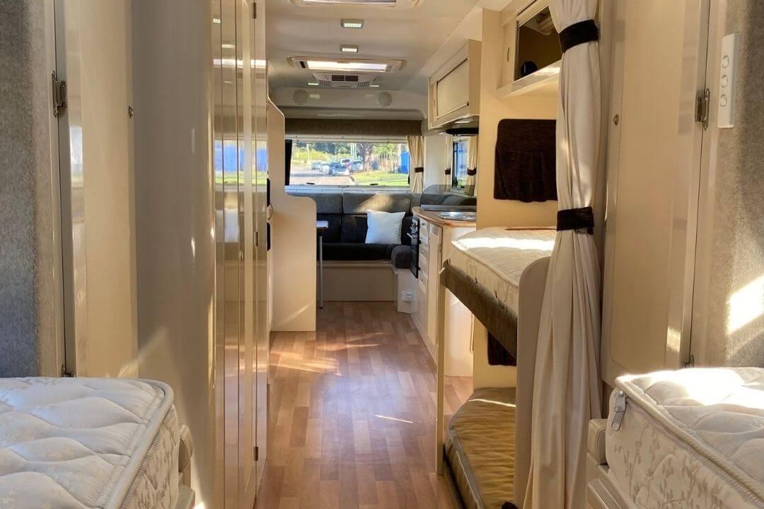 Spacious Interior Fifth Wheel Caravan