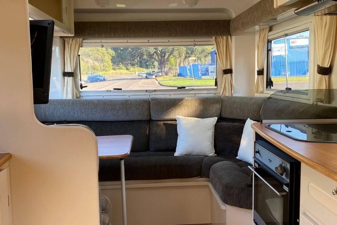 Travelhome Lounge Area